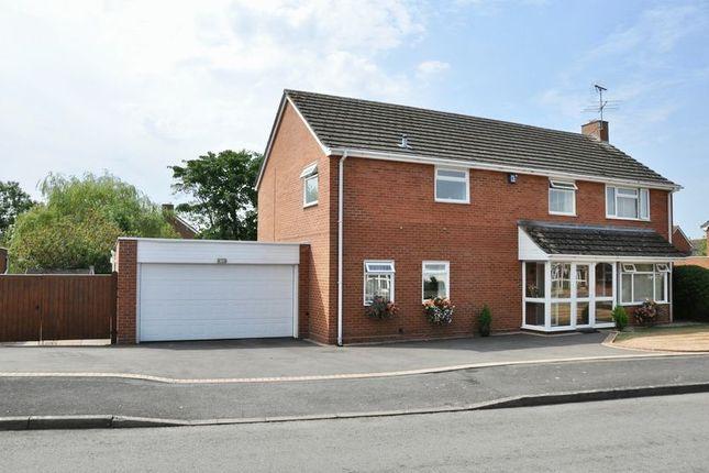 Thumbnail Detached house for sale in April House, Butt Furlong, Fladbury, Pershore
