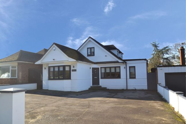 Thumbnail Detached bungalow for sale in Stapleford Road, Stapleford Abbotts, Romford
