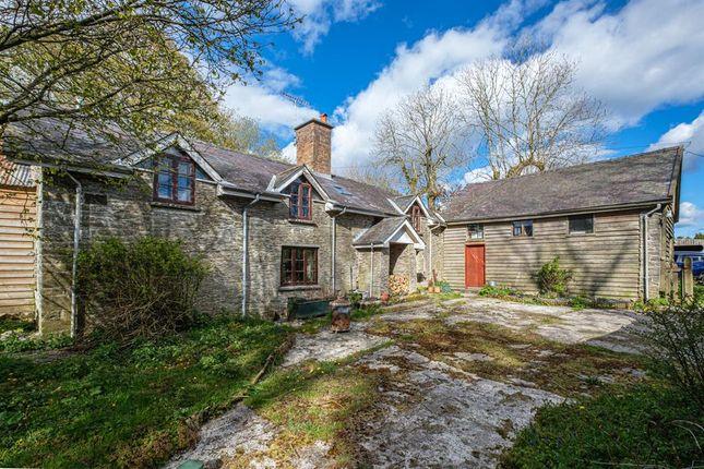Thumbnail Detached house for sale in Llanfihangel Nant Melan, Powys