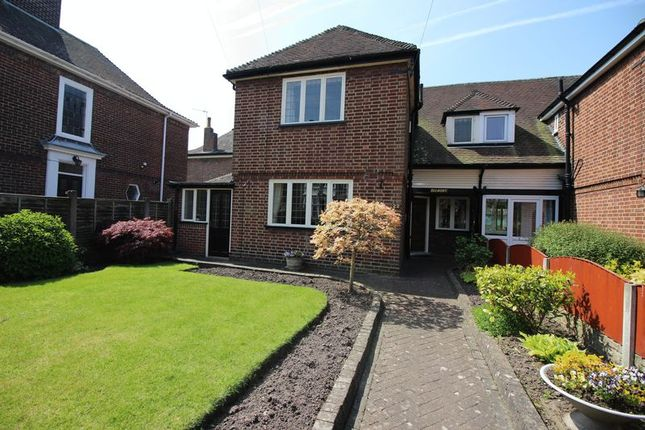 Thumbnail Semi-detached house for sale in Westfields, Leek, Staffordshire