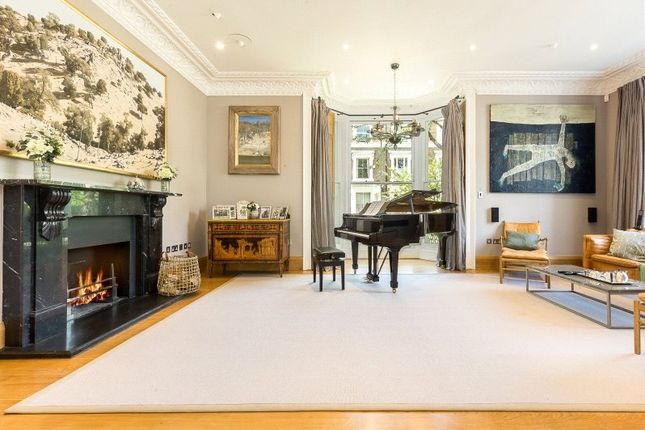 Thumbnail End terrace house for sale in Holland Villas Road, Holland Park, London