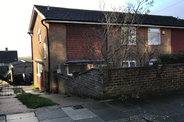Thumbnail Semi-detached house to rent in Netherfield Green, Woodingdean, Brighton
