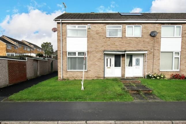 Thumbnail End terrace house for sale in Sheringham Close, High Green, Sheffield, South Yorkshire