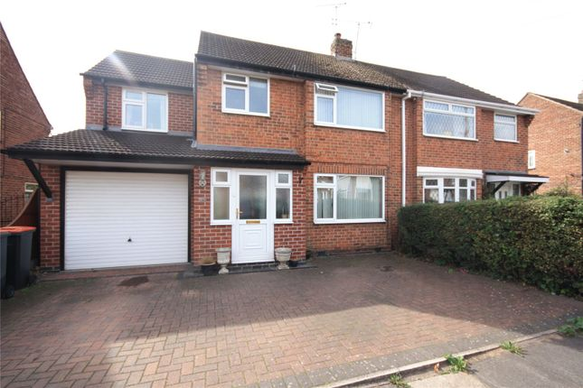 Thumbnail Semi-detached house for sale in Seaburn Road, Toton, Nottingham