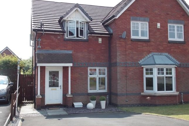 Thumbnail Semi-detached house to rent in Ingleby Close, Westhoughton, Bolton