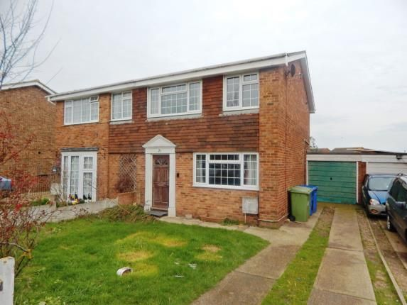 Thumbnail Semi-detached house for sale in Cliff View Gardens, Warden, Sheerness, Kent