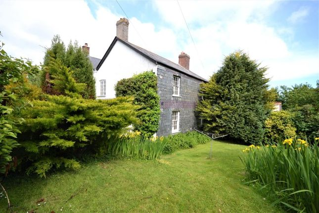 Thumbnail End terrace house to rent in Trenant Barton, Duloe, Liskeard, Cornwall