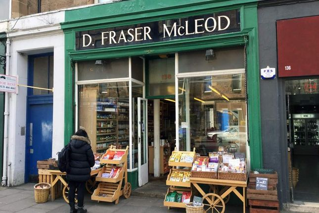 Thumbnail Retail premises for sale in 138 Marchmont Road, Edinburgh