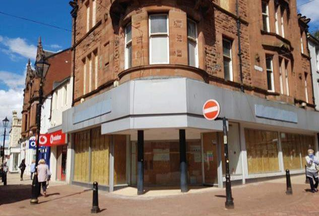 Thumbnail Retail premises to let in 86 High Street, Falkirk