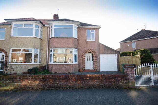 Thumbnail Semi-detached house for sale in Baugh Road, Downend, Bristol