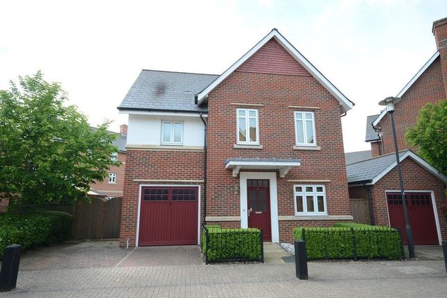 Thumbnail Detached house to rent in Wyatt Crescent, Lower Earley, Reading