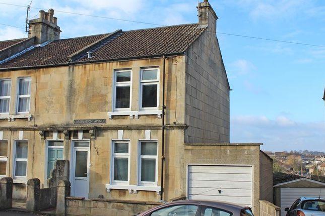 Thumbnail End terrace house for sale in Coronation Avenue, Bath