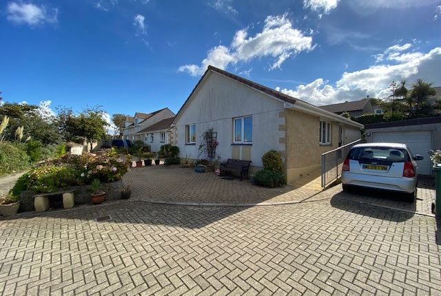Thumbnail Detached bungalow for sale in Polvelyn Parc, Hayle