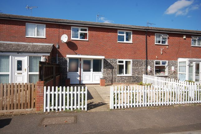 Thumbnail Terraced house to rent in Ulfkell Road, Thetford