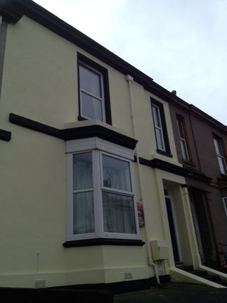 Thumbnail Town house to rent in Alexandra Road, Mutley, Plymouth