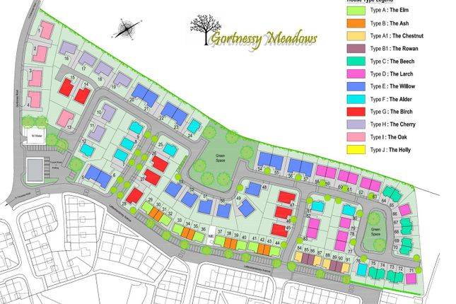 Gortnessy Meadows Site Plan
