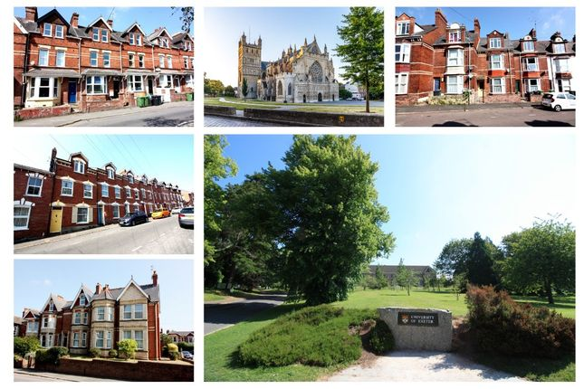 Thumbnail Terraced house for sale in Pennsylvania Road, Exeter
