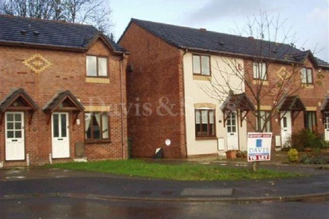 Thumbnail Semi-detached house to rent in Forge Mews, Bassaleg, Newport, Newport.