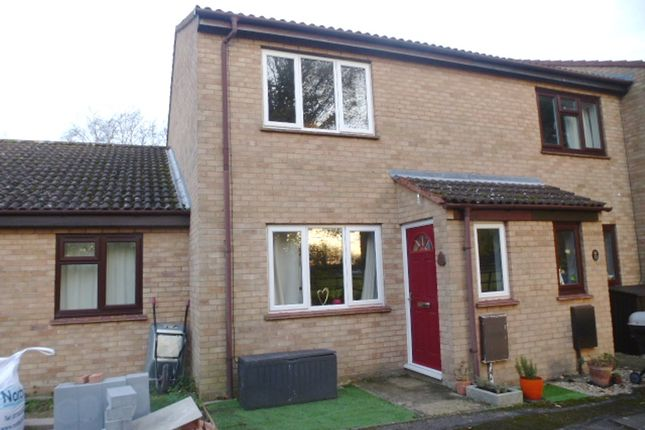 Thumbnail End terrace house for sale in Gables Close, Meldreth, Royston