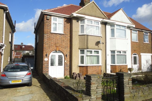 Thumbnail Semi-detached house to rent in Hogarth Gardens, Hounslow