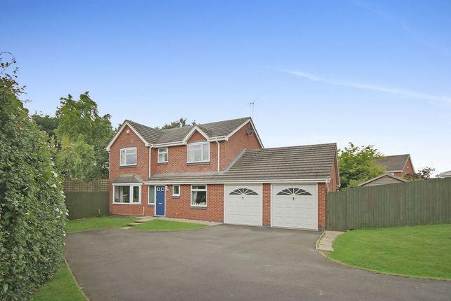 Thumbnail Detached house for sale in Priors Lane, Market Drayton