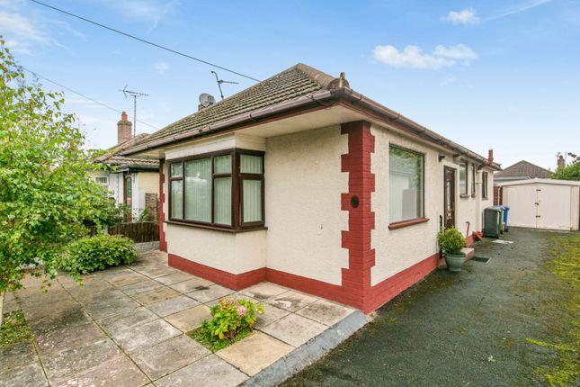 Thumbnail Detached bungalow for sale in Ffordd Penrhwylfa, Prestatyn