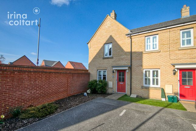 2 bed end terrace house for sale in Kirk Way, Colchester CO4