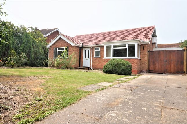 Thumbnail Detached bungalow for sale in Campions Lane, North Thorseby