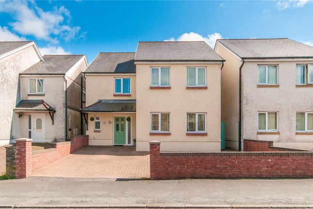 Thumbnail Detached house for sale in Brecon Road, Ystradgynlais, Swansea