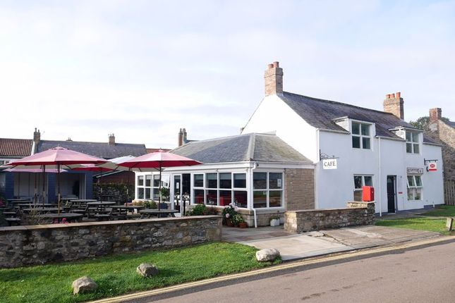 Thumbnail Commercial property for sale in 1st Class Food, Greystones, Green Lane, Holy Island