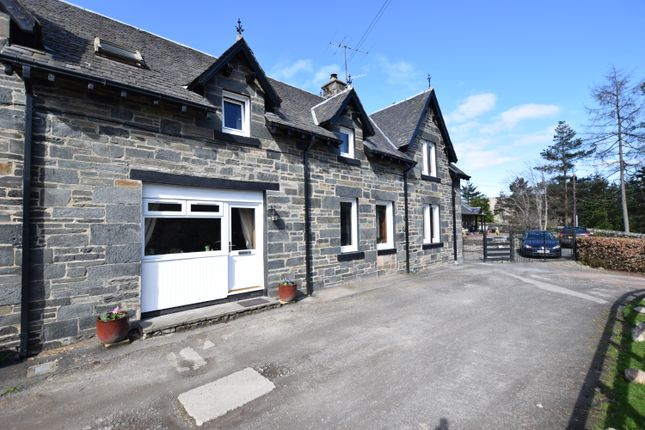Thumbnail End terrace house for sale in Limebank, Garth, Fortingall