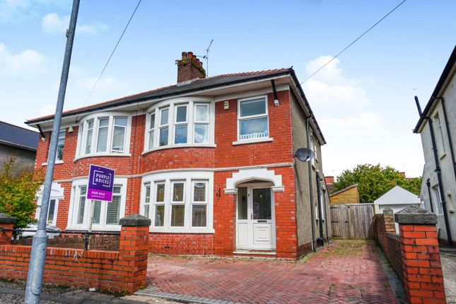 Thumbnail Semi-detached house for sale in Pum Erw Road, Heath