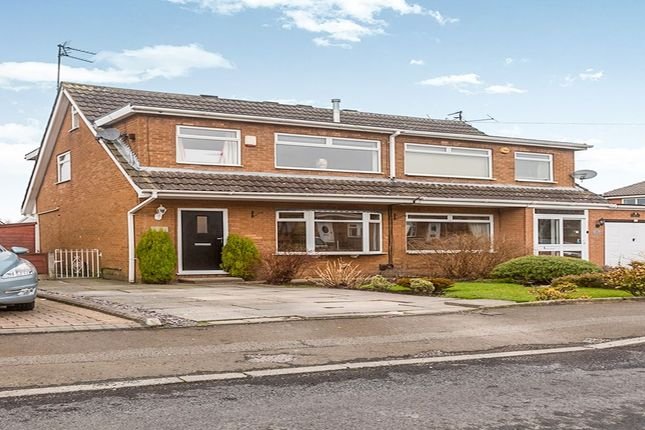 Thumbnail Semi-detached house for sale in Angel Close, Dukinfield