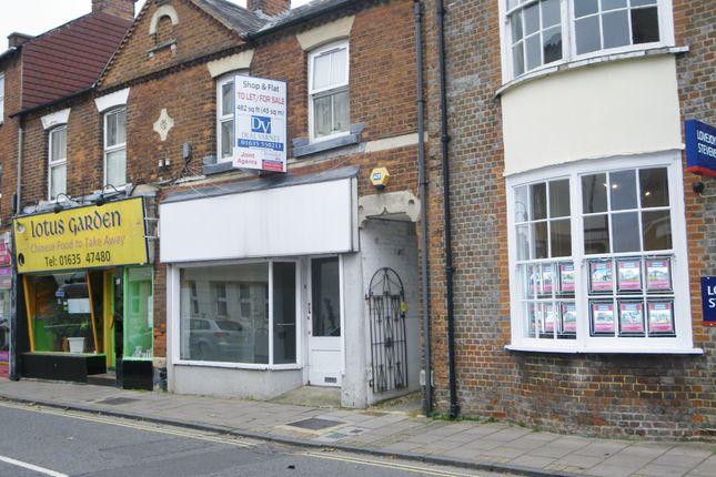 Thumbnail Retail premises to let in Cheap Steet, Newbury