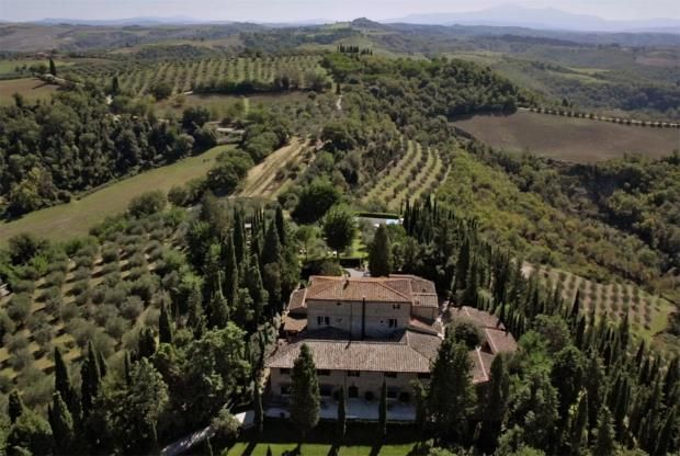 Thumbnail Country house for sale in Tuscan Estate, Asciano, Siena, Tuscany, 06019