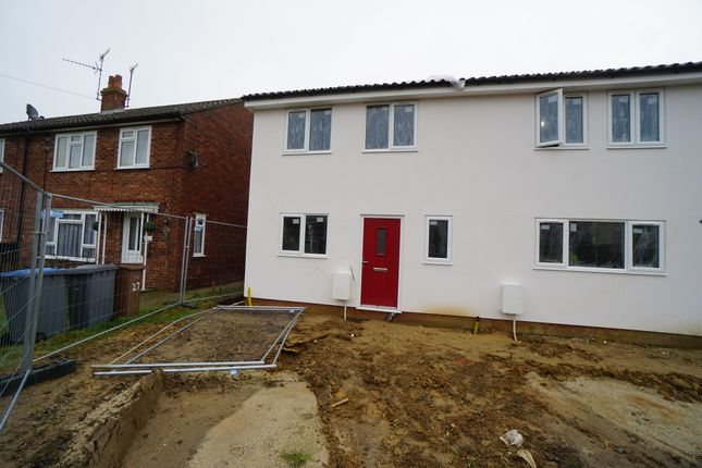 Thumbnail Semi-detached house for sale in Heath View, Leiston, Suffolk