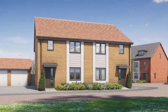 Thumbnail End terrace house for sale in Wavendon House Drive, Wavendon, Milton Keynes