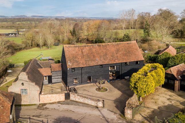 Thumbnail Detached house for sale in Newhouse Farm Lane, Hever, Edenbridge