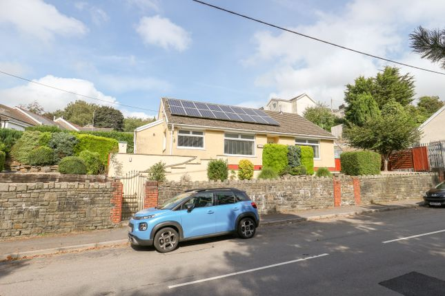 Thumbnail Detached bungalow for sale in The Grawen, Merthyr Tydfil
