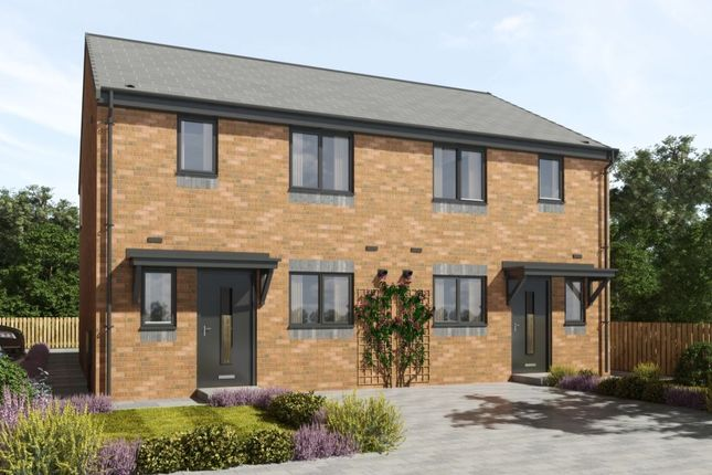 Thumbnail Semi-detached house for sale in Marley View, Marley Hill, Newcastle Upon Tyne