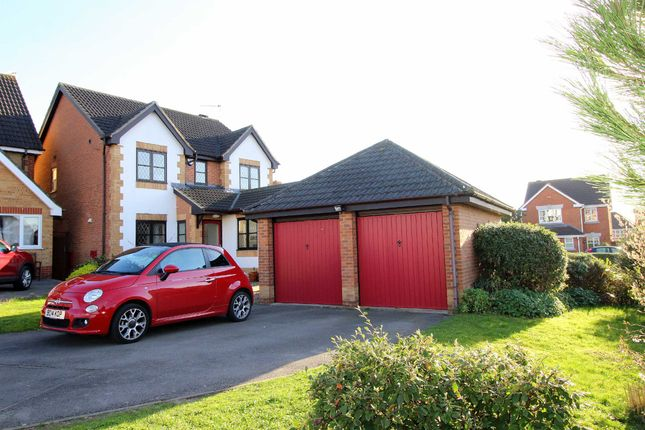 Thumbnail Detached house for sale in Angletarn Close, Gamston