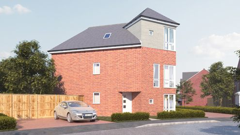 Thumbnail Detached house for sale in Wedgewood Avenue, West Bromwich