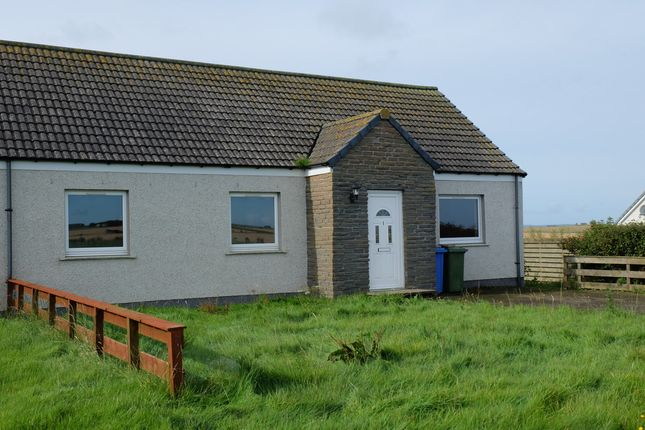 Thumbnail Semi-detached bungalow for sale in Gillock, Wick