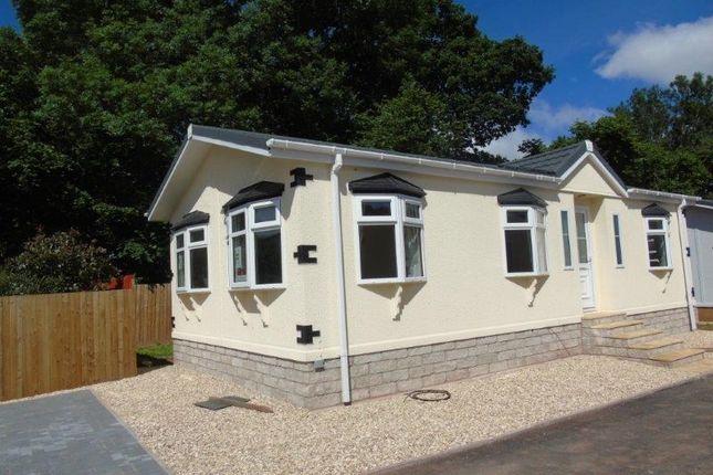 Thumbnail Mobile/park home for sale in Lea Villa Park, Lea, Ross-On-Wye