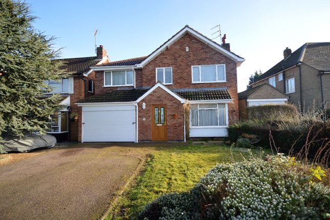 Thumbnail Detached house for sale in Holme Drive, Oadby, Leicester