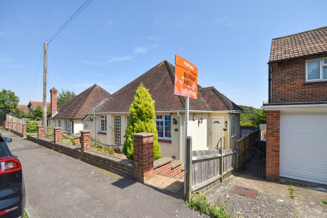 Thumbnail Detached bungalow for sale in Chichester Road, Sandgate, Folkestone
