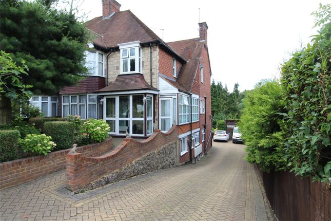 Thumbnail Semi-detached house for sale in West Wycombe Road, High Wycombe, Bucks