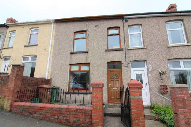 Thumbnail Terraced house for sale in Fields Park Road, Newbridge, Newport