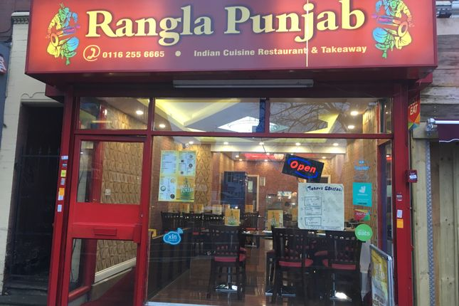 Thumbnail Restaurant/cafe to let in Narborough Road, Leicester