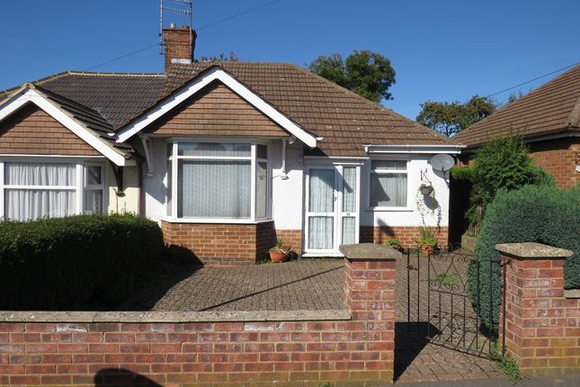 Thumbnail Semi-detached bungalow for sale in Bishops Drive, Kingsthorpe, Northampton